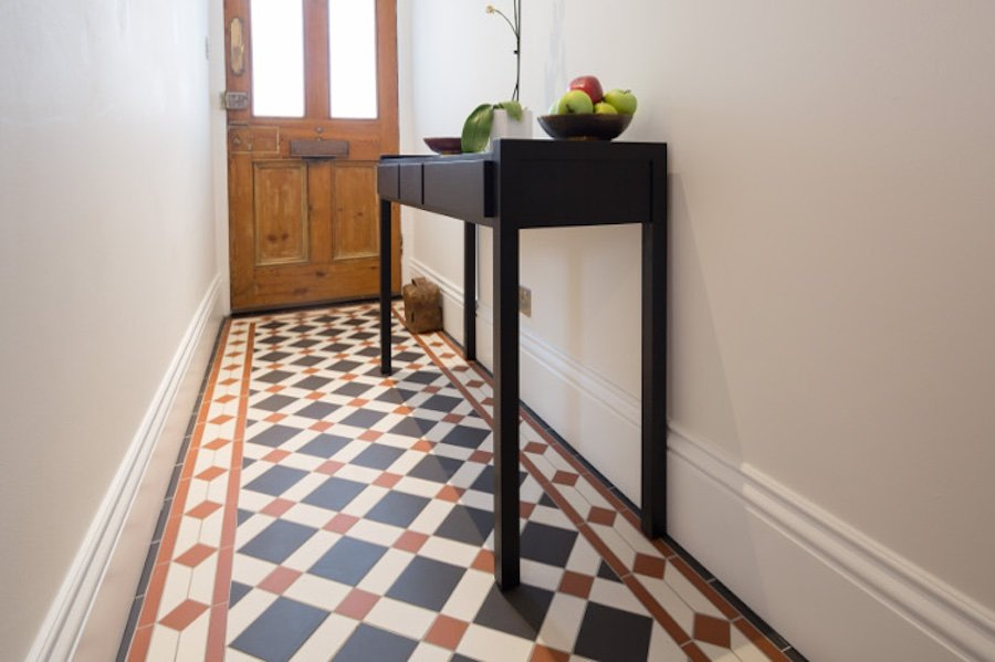Victorian Quarry Stone Floor Stripping and Resealing